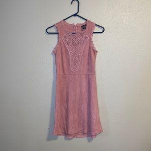 Light pink soft dress